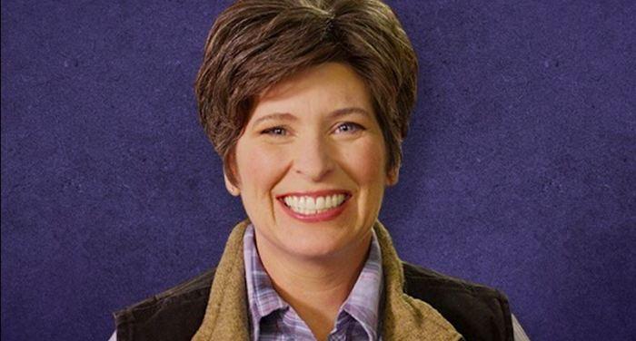 Republican candidate Joni Ernst.