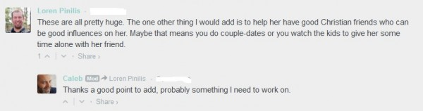 how to make your wife submit to your authority christian blog another user helpfully points out that husbands should also be encouraging their wives to have the right sort of friends