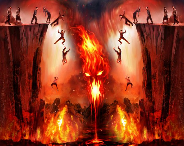 Souls Burning In Hell