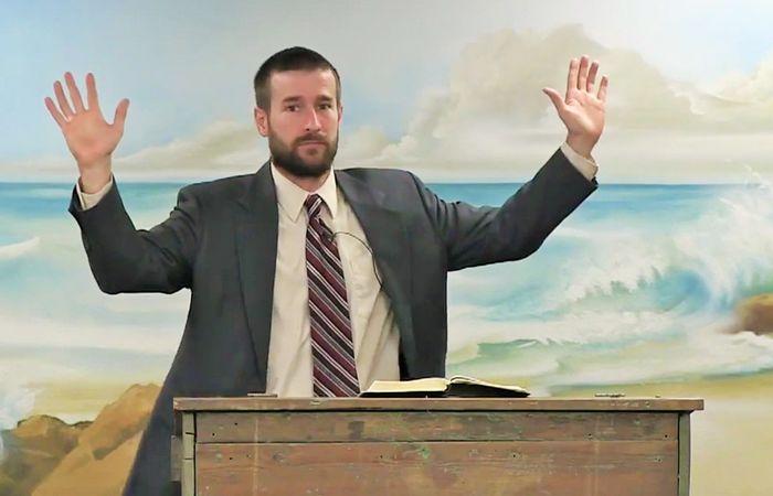 Arizona pastor Steven Anderson.