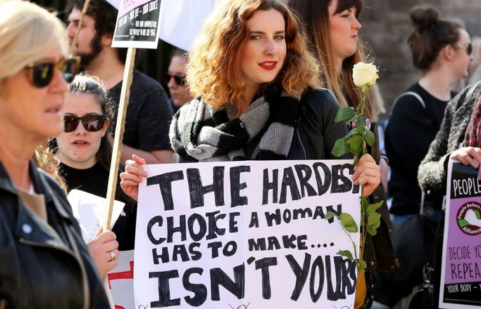 Ireland is hosting a referendum on 25 May regarding its abortion laws.